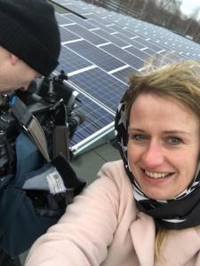 Zonnepanelen draaien met Hugo Janssen